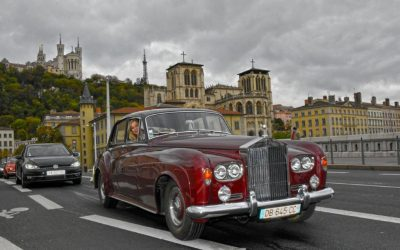 14ème Traversée de Lyon en Rolls et Bentley